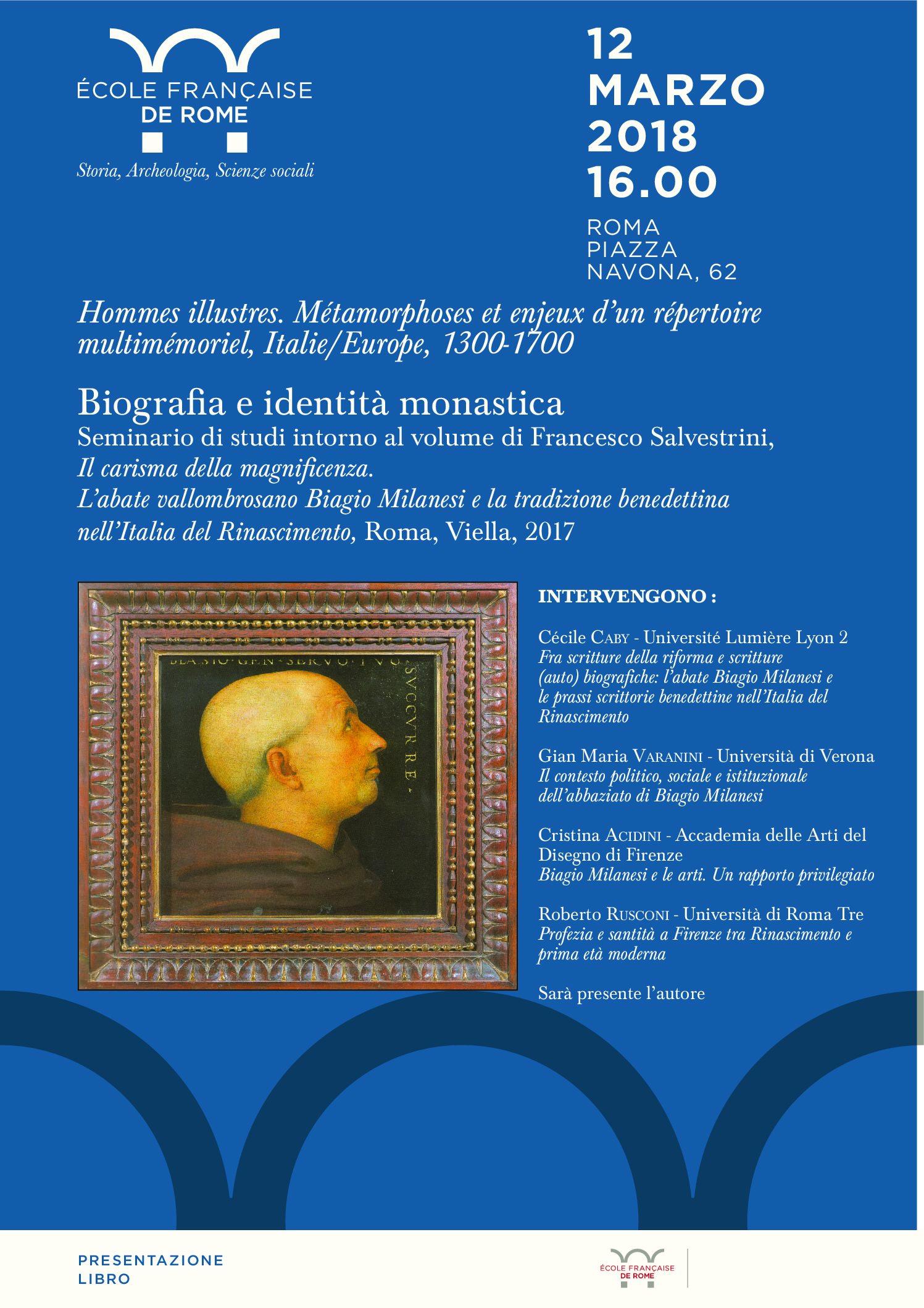 Biografia e identità monastica